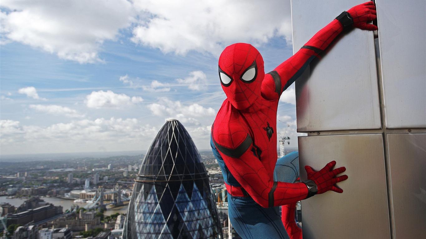 2017 Spider Man Homecoming Hd Película Wallpaper 01 Avance