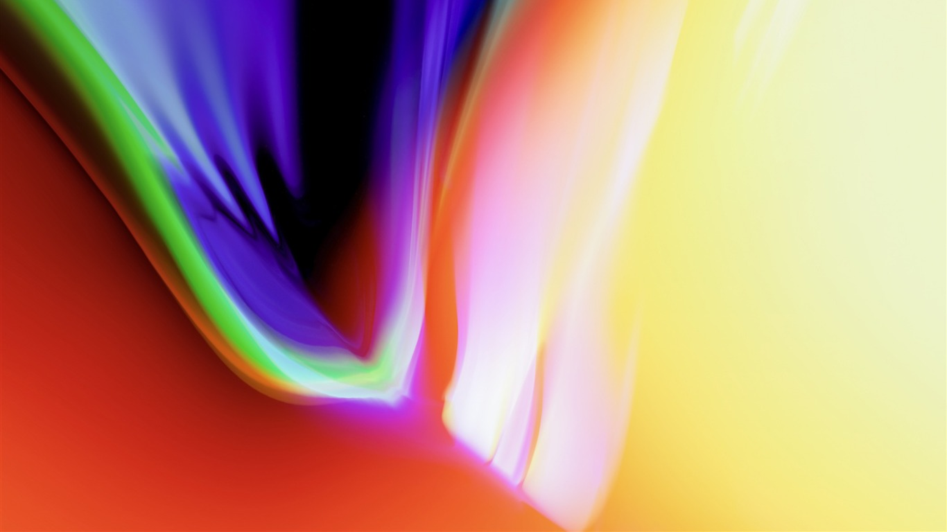 Or Colore Abstrait Apple Ios 11 Iphone 8 Iphone X Hd Fond D