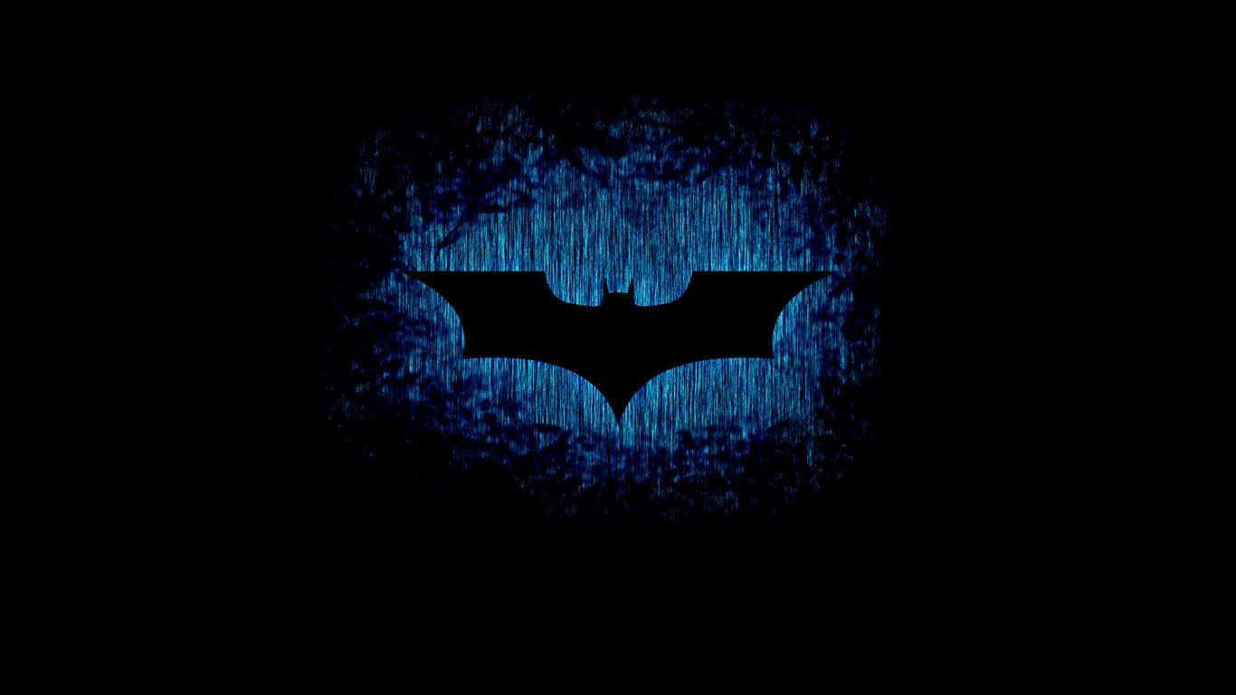 バットマンのサインロゴダーク 2017映画壁紙プレビュー