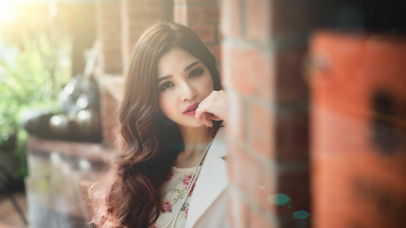 Girl People Young Asian Pretty Model Photo Hd Wallpaper Preview