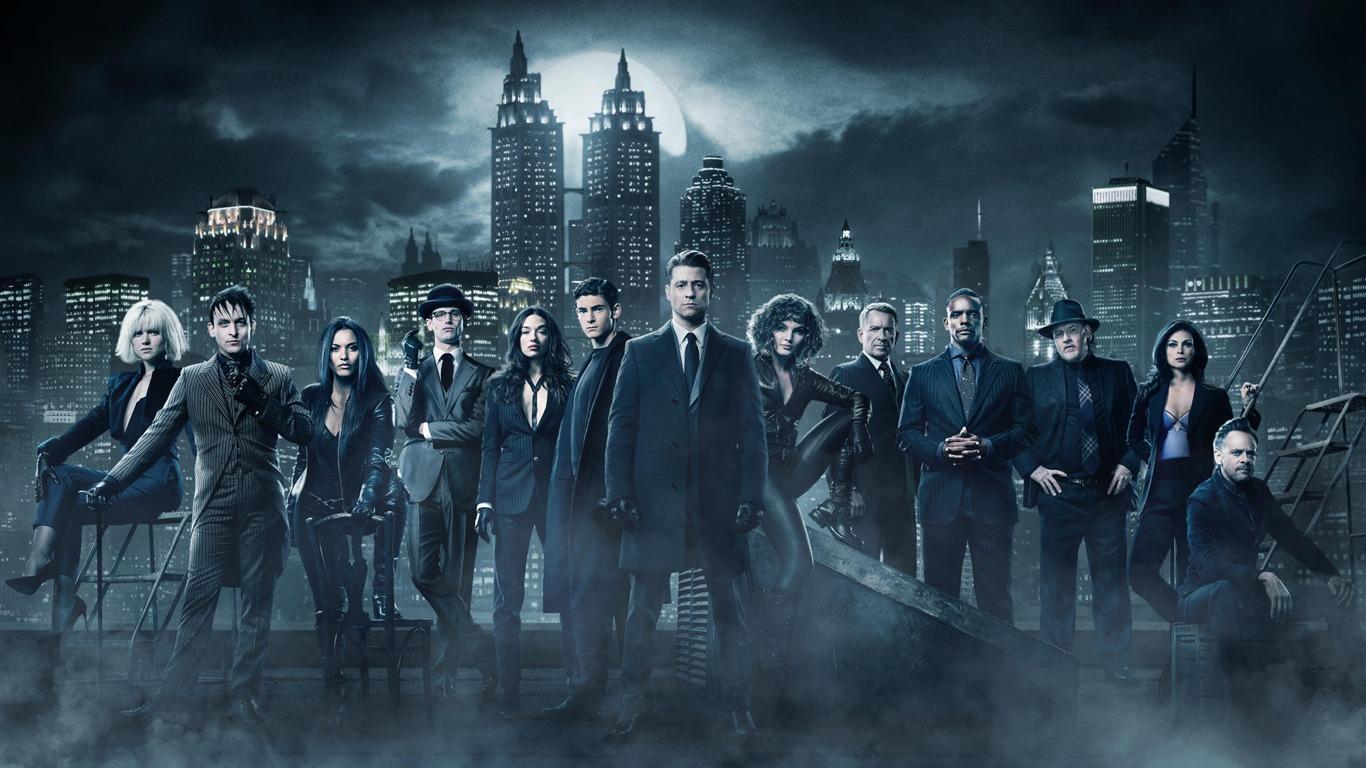 Gotham Season 4 Cast 2017 Movie Wallpaper Avance