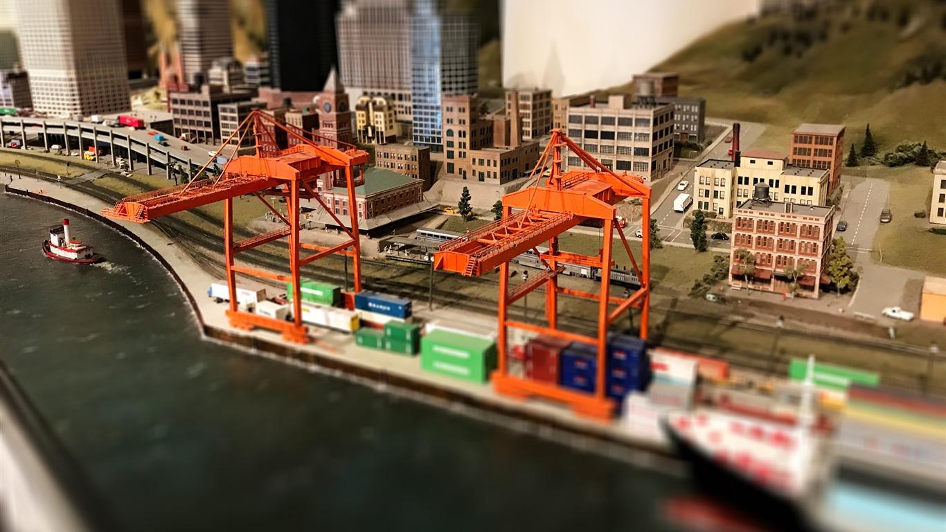 ミニチュアおもちゃ マイクロ都市の写真のhdの壁紙プレビュー 10wallpaper Com