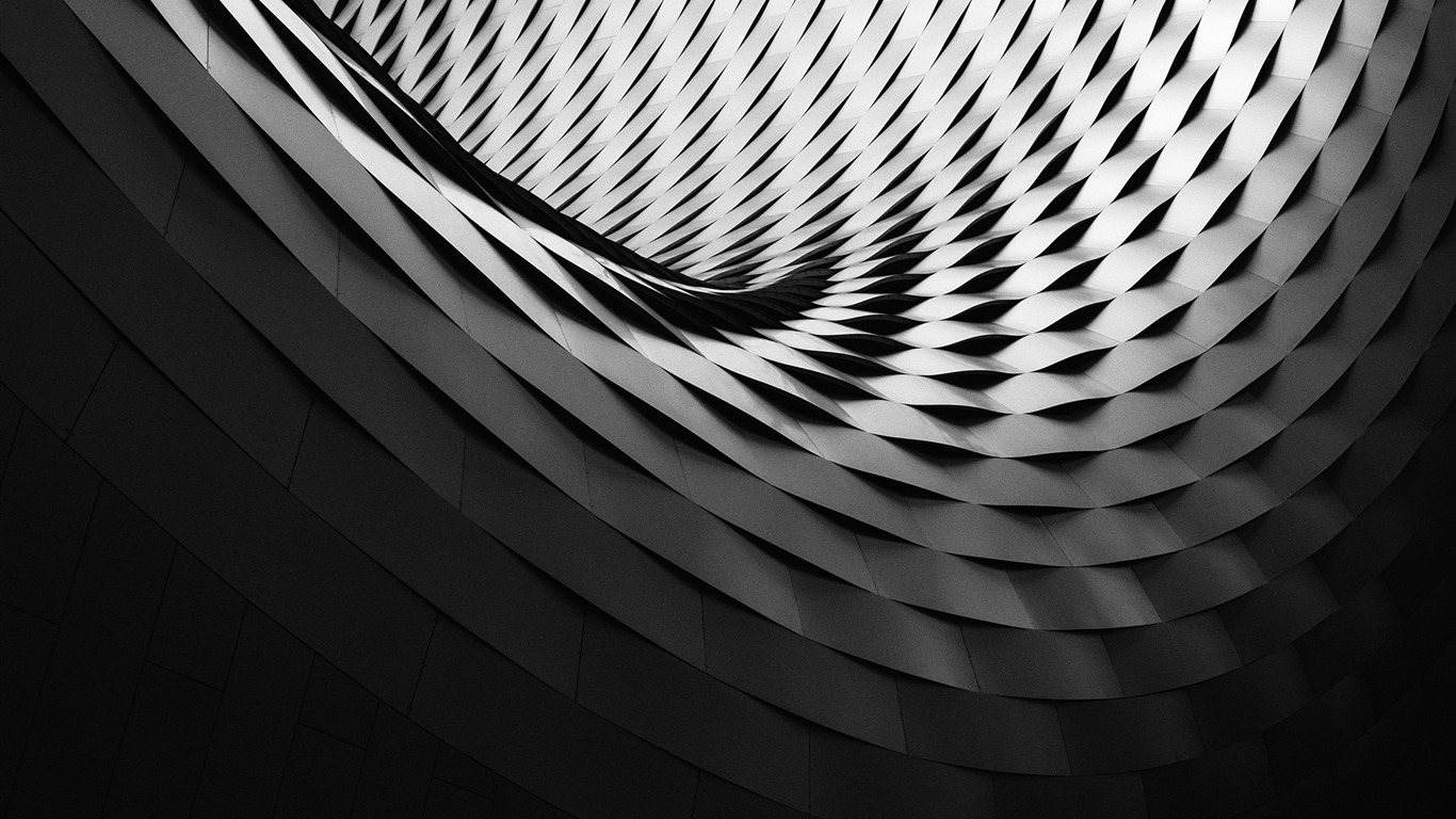 Black White Abstract Architecture 2017 Hd Wallpaper Preview