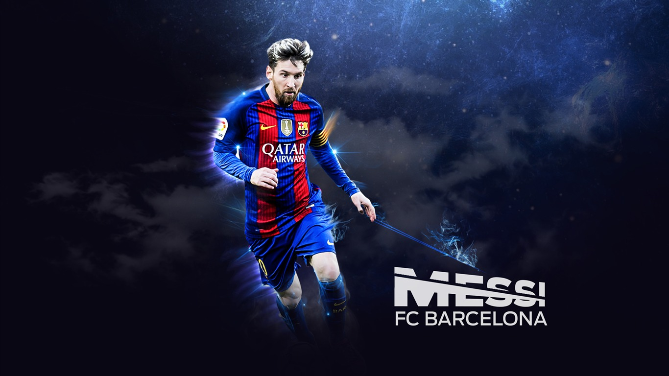 Fondo De Pantalla De Lionel Messi Fc Barcelona 2017 Avance