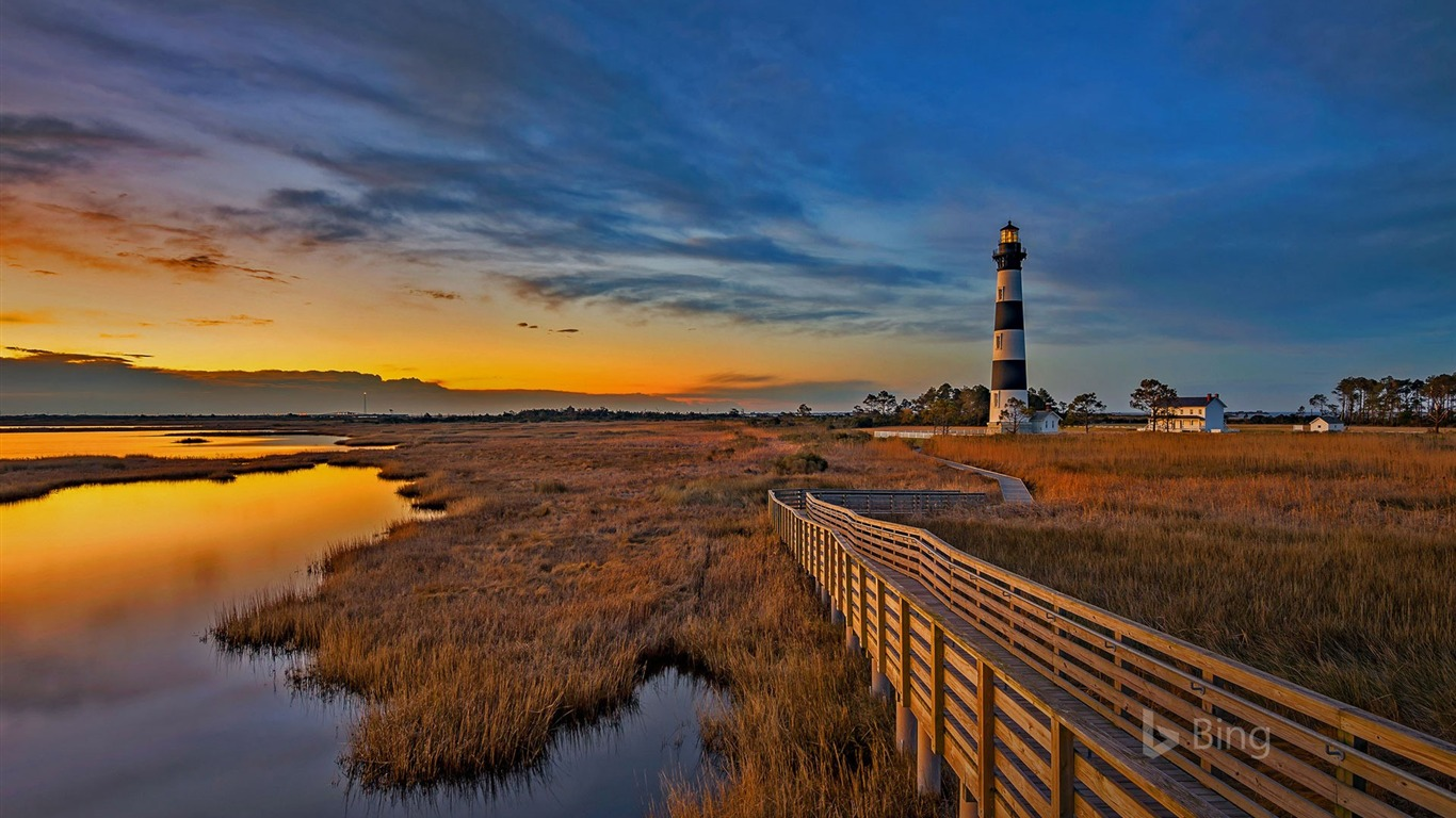 North_Carolina_Bodie_island_lighthouse_2017_Bing_Wallpaper