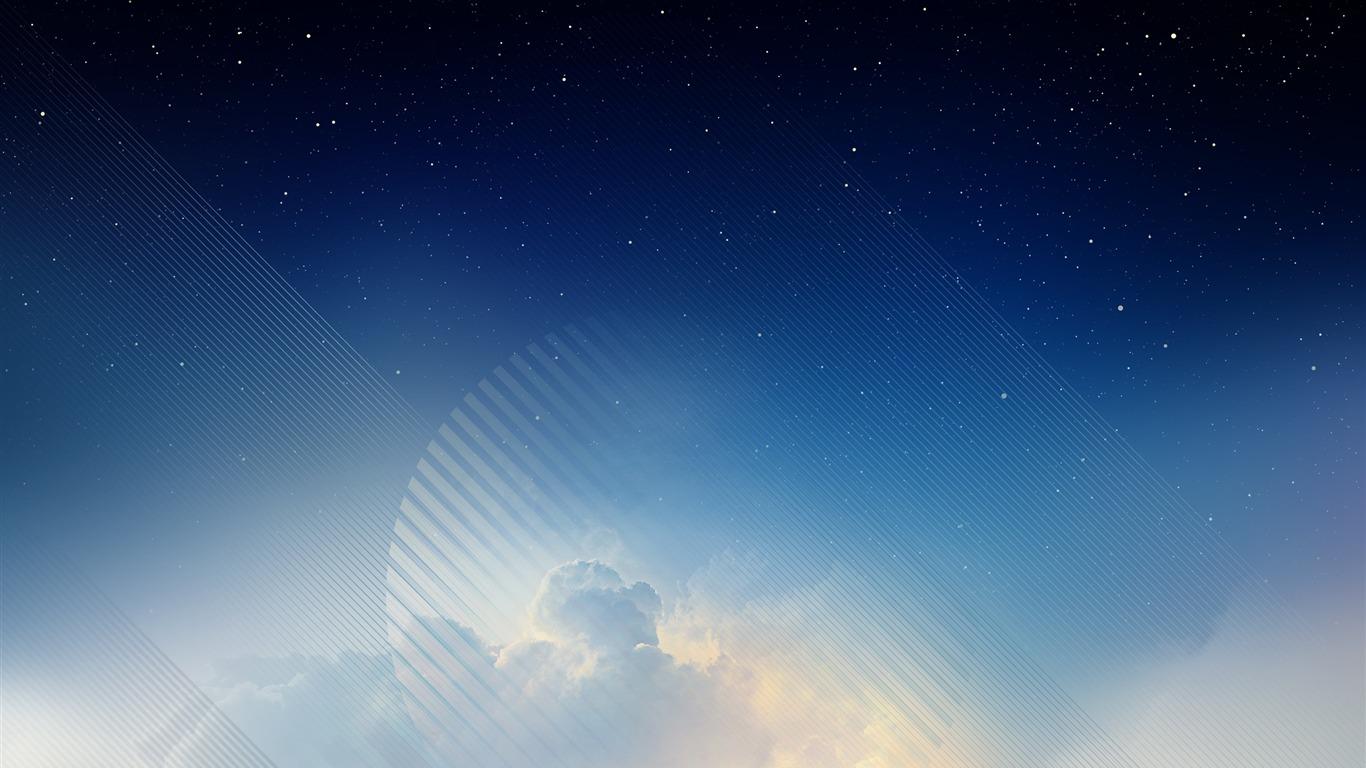 Abstractor De Cielo Estrella Azul Galaxy Note 8 Wallpapers