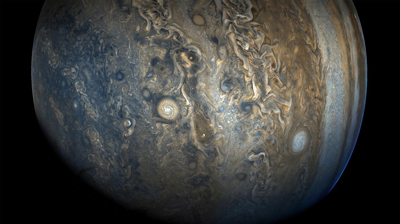 Júpiter Hemisferio Sur Nasa 2017 4k Hd Avance 10wallpapercom