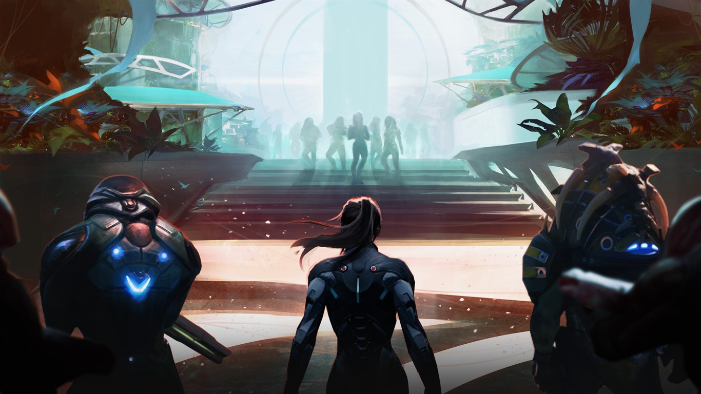 Mass Effect Andromeda 4k Game Wallpaper Avance 10wallpapercom