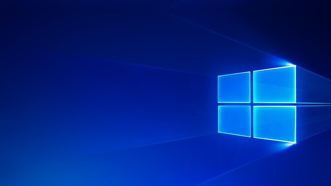 Windows 10 Escritorio Deslumbramiento Diseño Avance