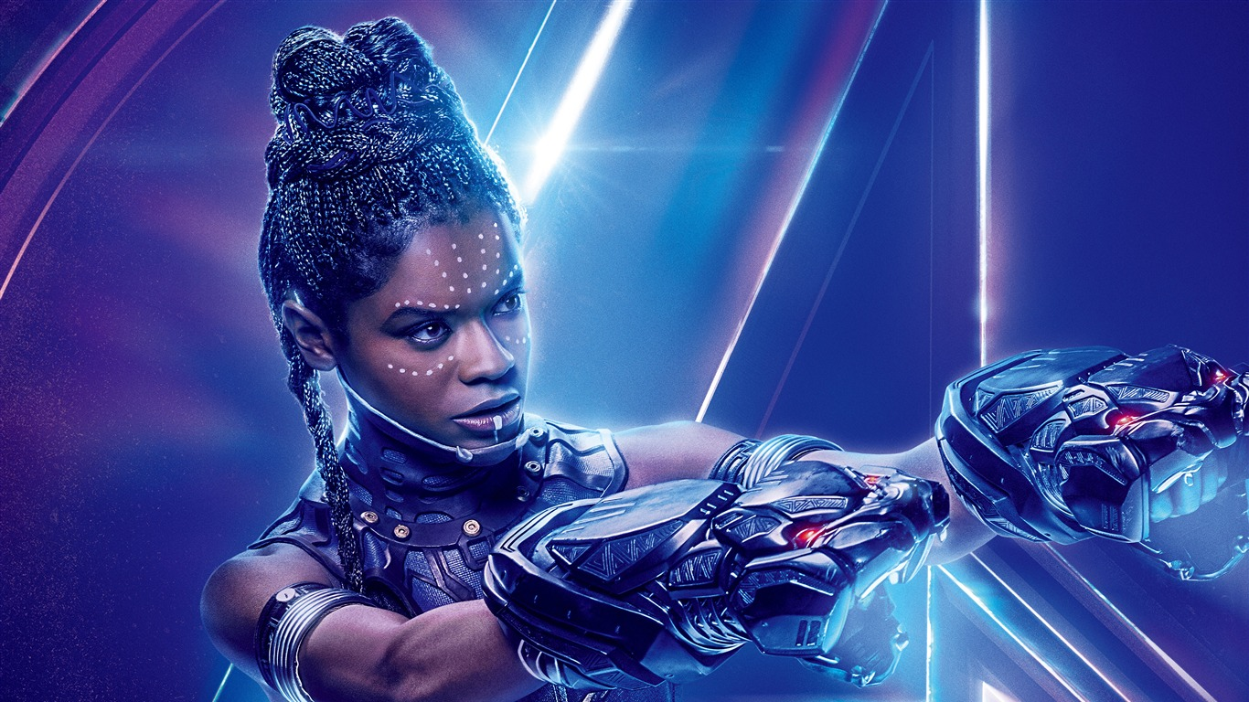 Avengers Infinity War 2018 Letitia Wright Preview 10wallpaper Com