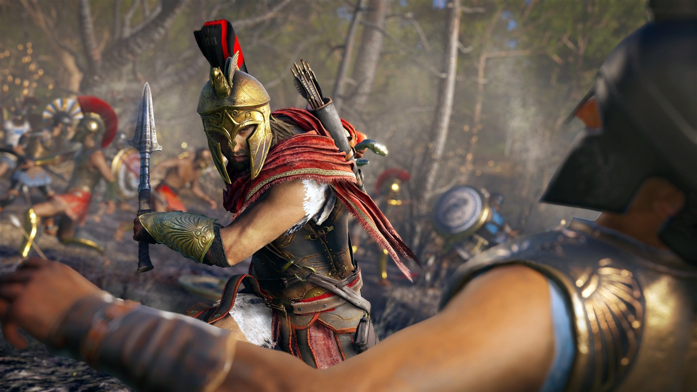 2018 Assassins Creed Odyssey 4k Wallpaper Preview 10wallpaper Com