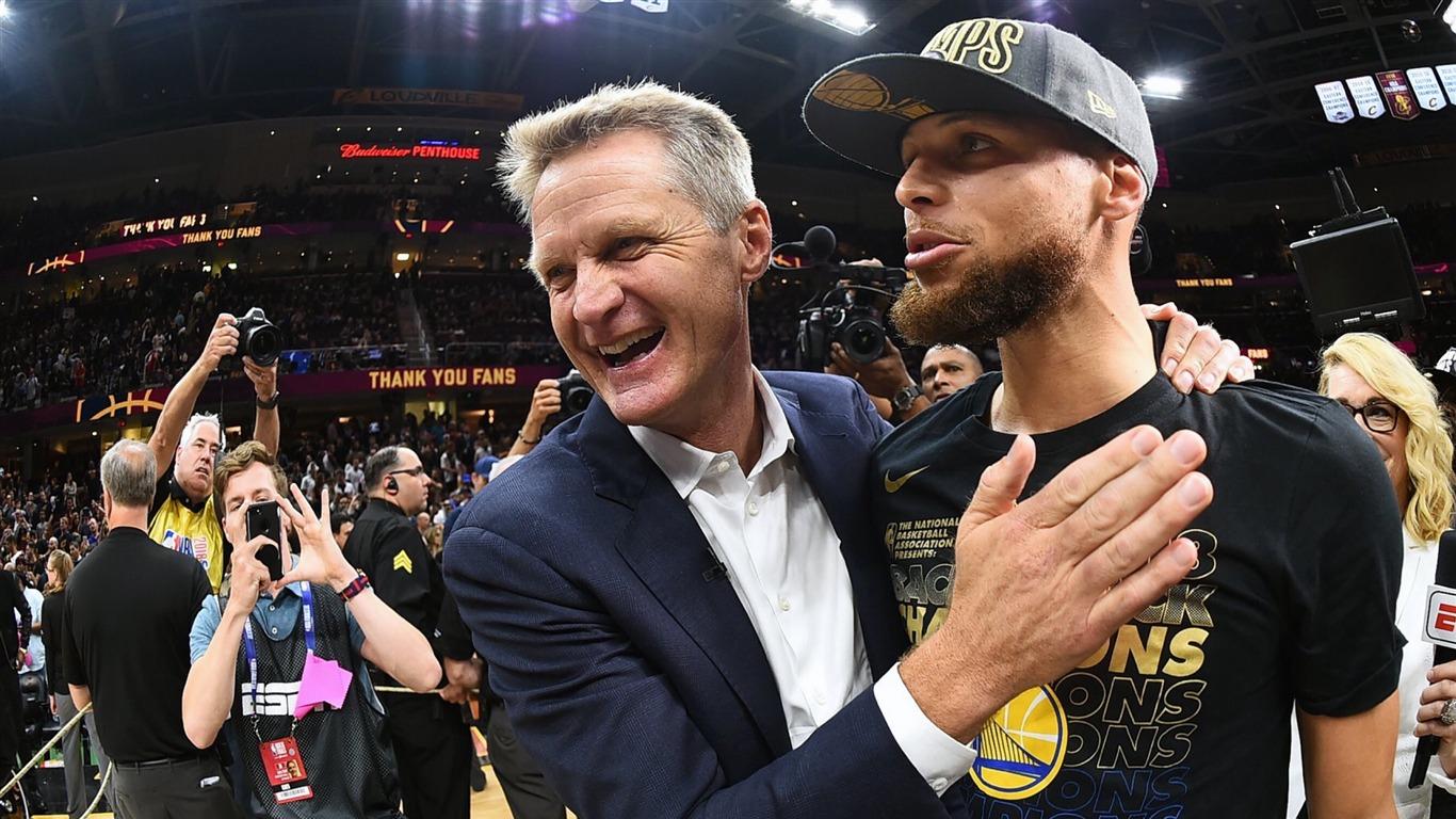 2018,NBA,总决赛,勇士,斯蒂芬·库里,史蒂夫·科尔预览 | 10wallpaper.com