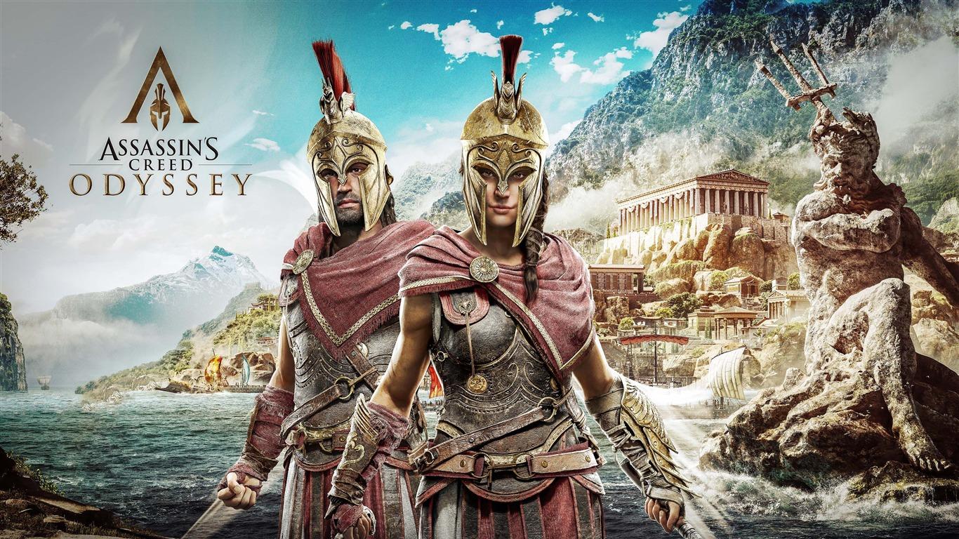 2018 Assassins Creed Odyssey 4k Captura De Pantalla