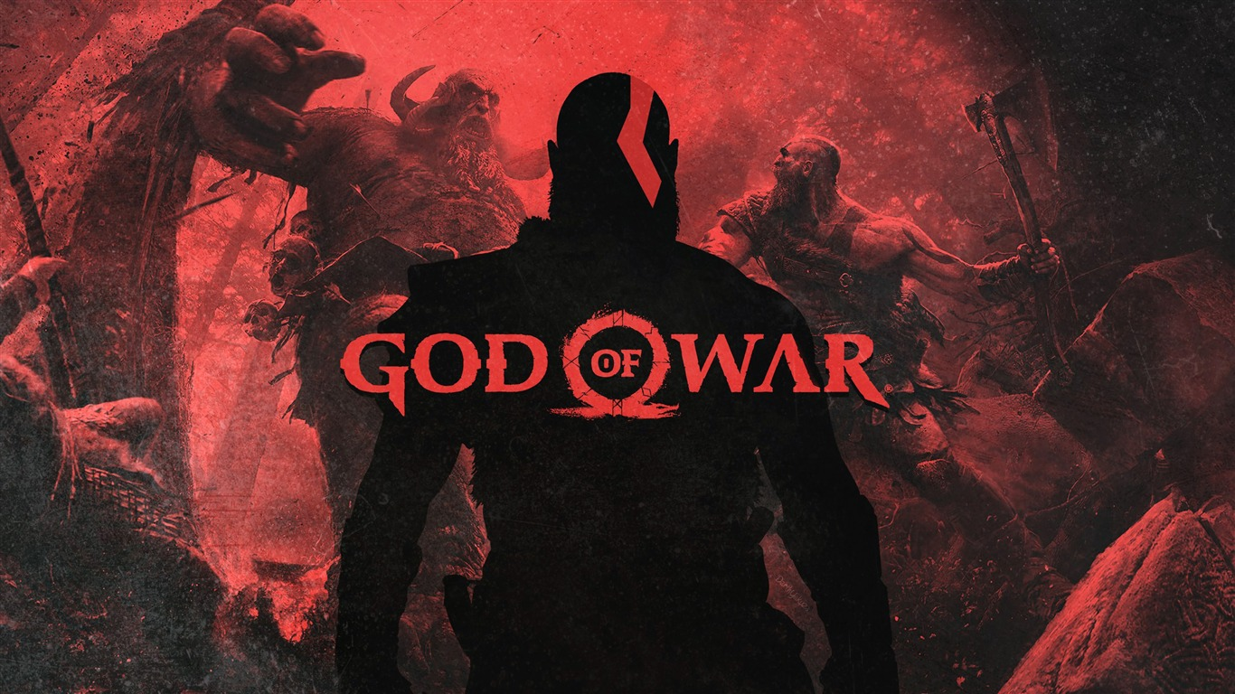 2018 God Of War Kratos Juego Captura De Pantalla Avance