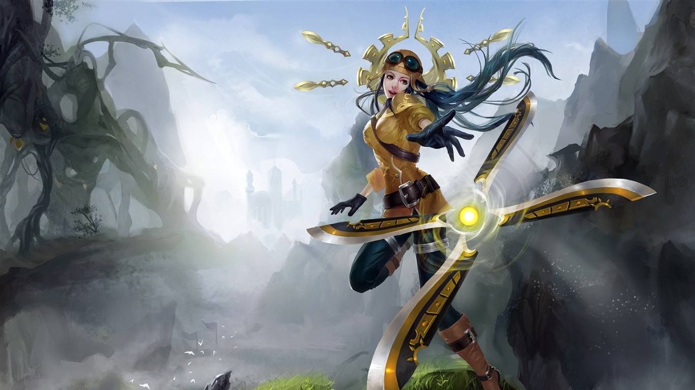 2018, League of Legends, Irelia, juego, cartel