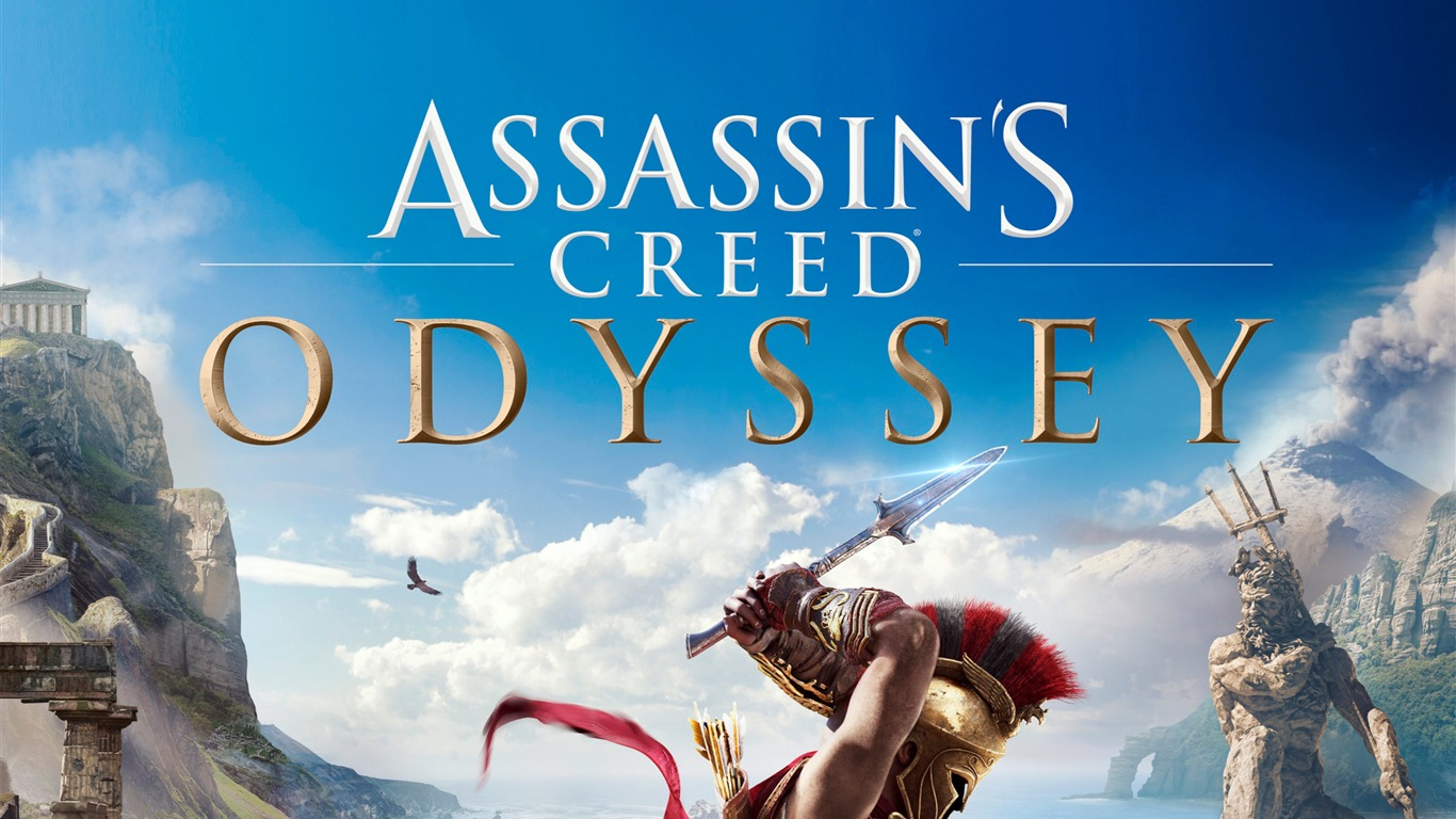 Assassins Creed Odyssey 2018 Game Hd Poster Preview 10wallpaper Com