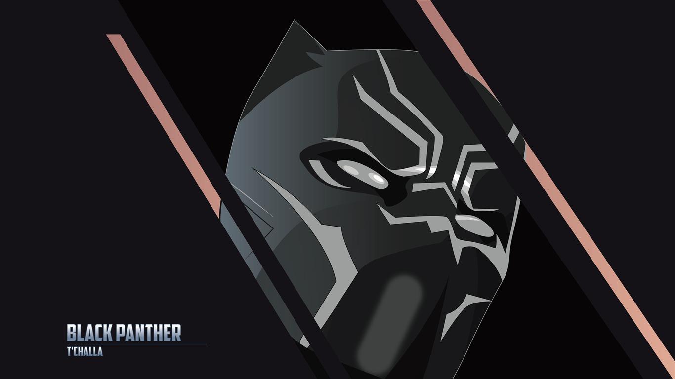クリエイティブ マーベルコミックススーパーヒーロー ブラック