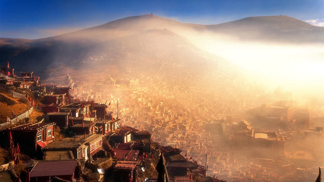 mysterious seda tibetan buddhism holy land morning preview