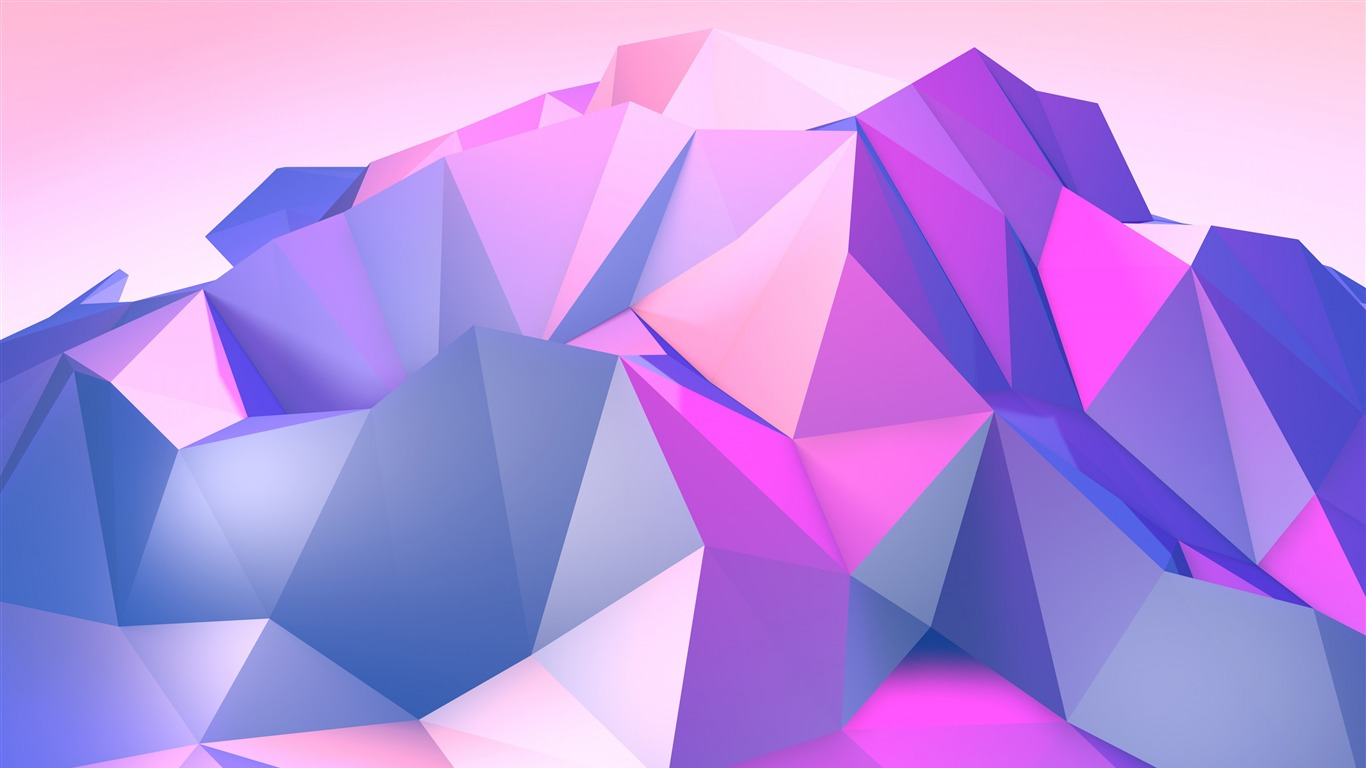 Purple Triangle Geometric Abstract Design Preview ...