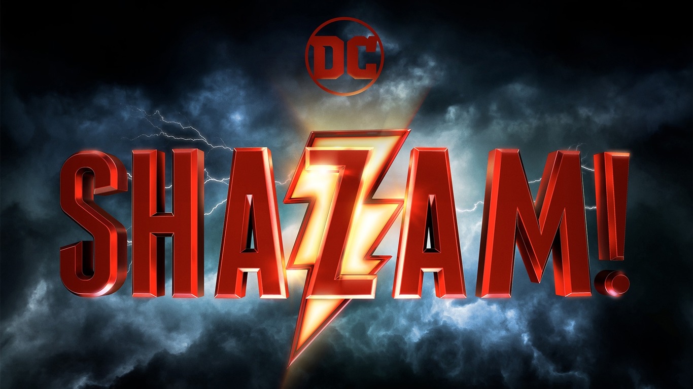 Shazam 2018 Dc Comics Películas Cartel Avance