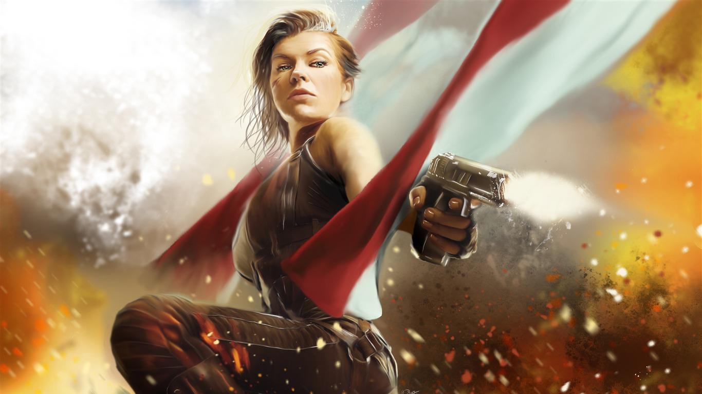 Resident Evil The Final Chapter Movie Poster Avance