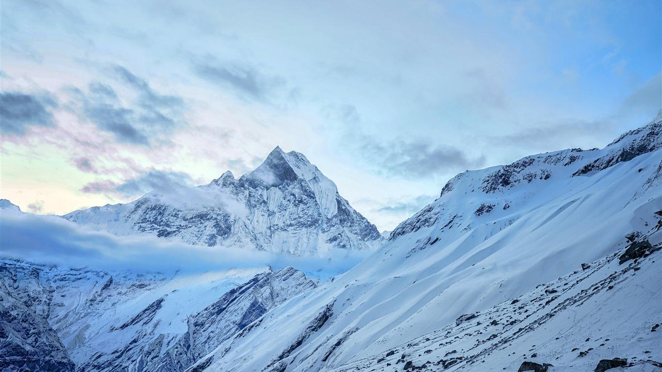 Tibet Everest Snow Mountain Hd Landscape Preview