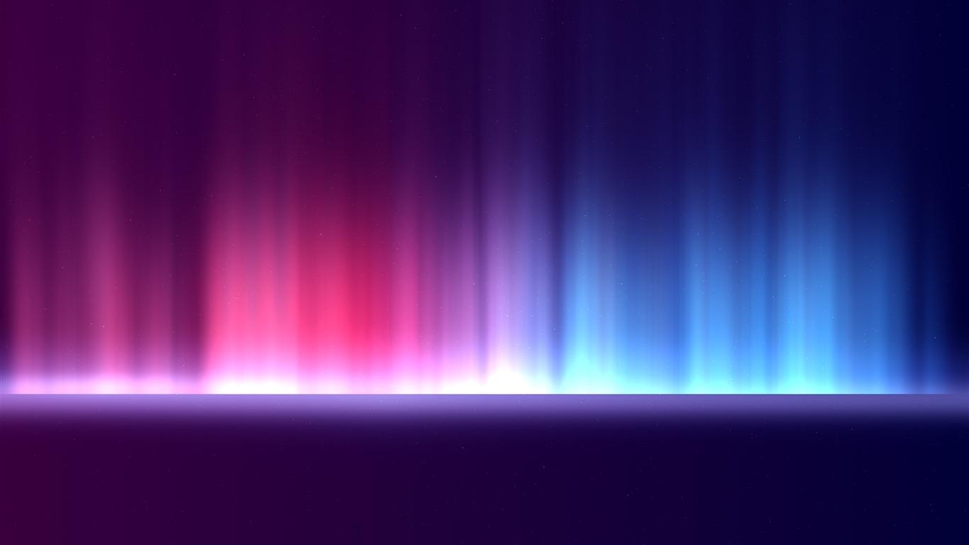 Luz de colores, degradado, oscuro, fondo Avance