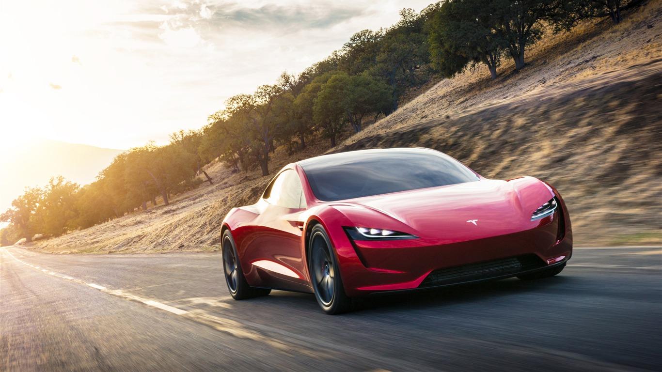 特斯拉,roadster,2020,超级电动汽车预览 10wallpaper Com