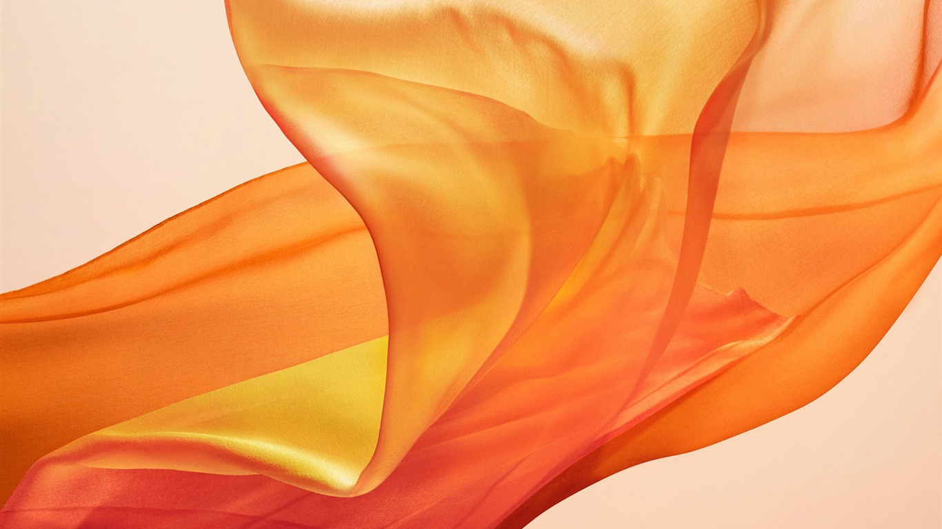Macbook Air 2018 Orange Abstract Desktop Preview