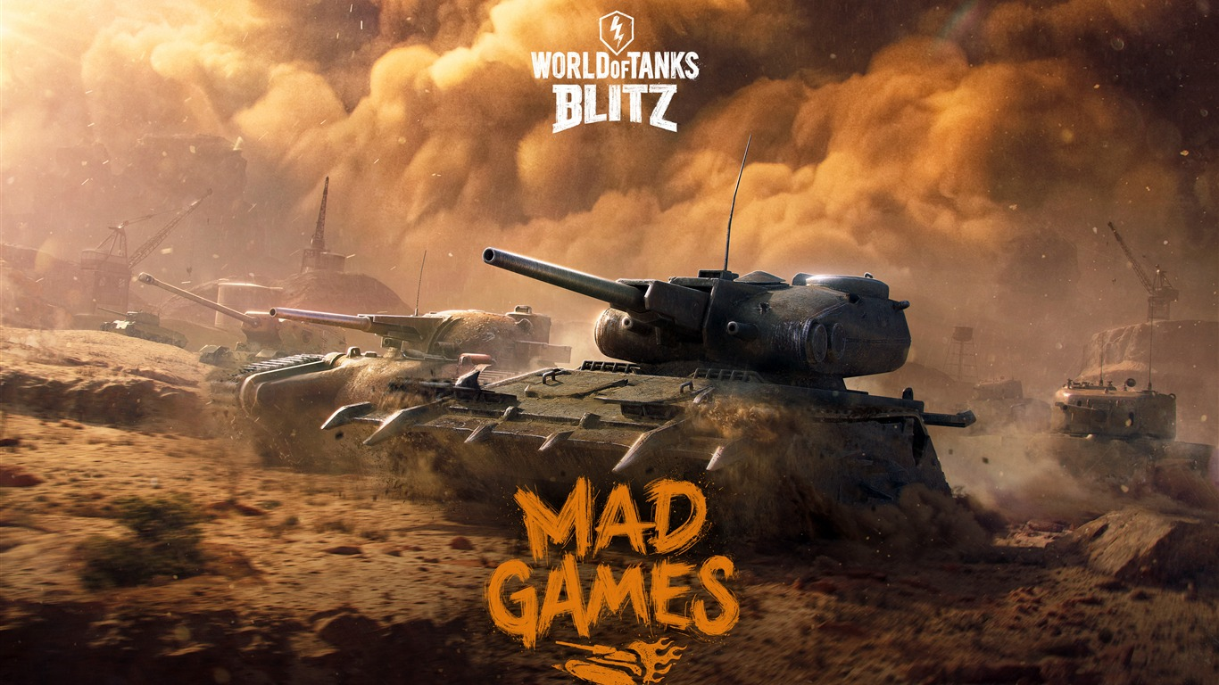 World Of Tanks Blitz 2018 Juego Posters Avance