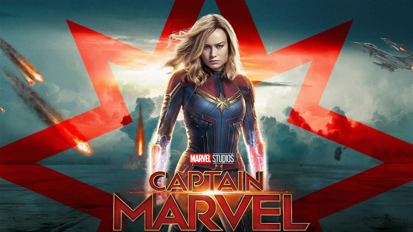 キャプテンマーベル、2019、HD、映画、ポスタープレビュー