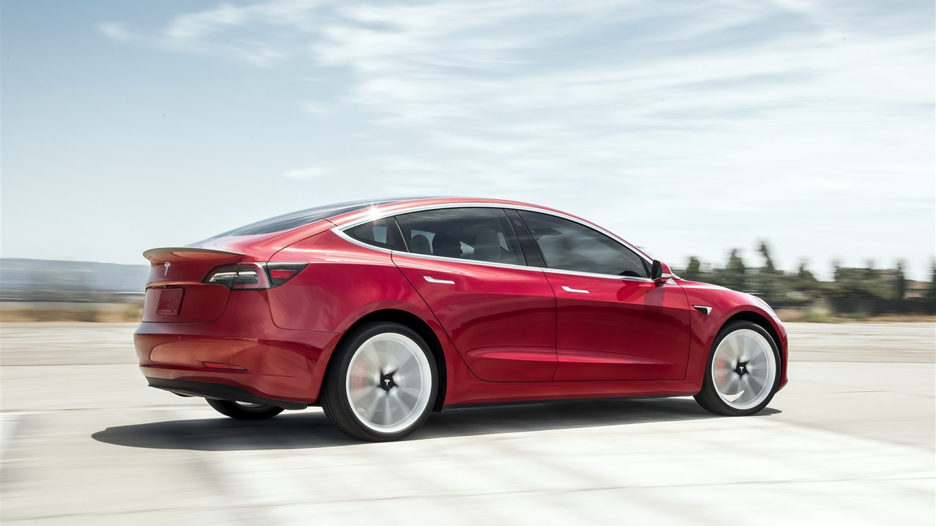 Tesla Model 3 2019 Electric Cars HD Photo Preview ...