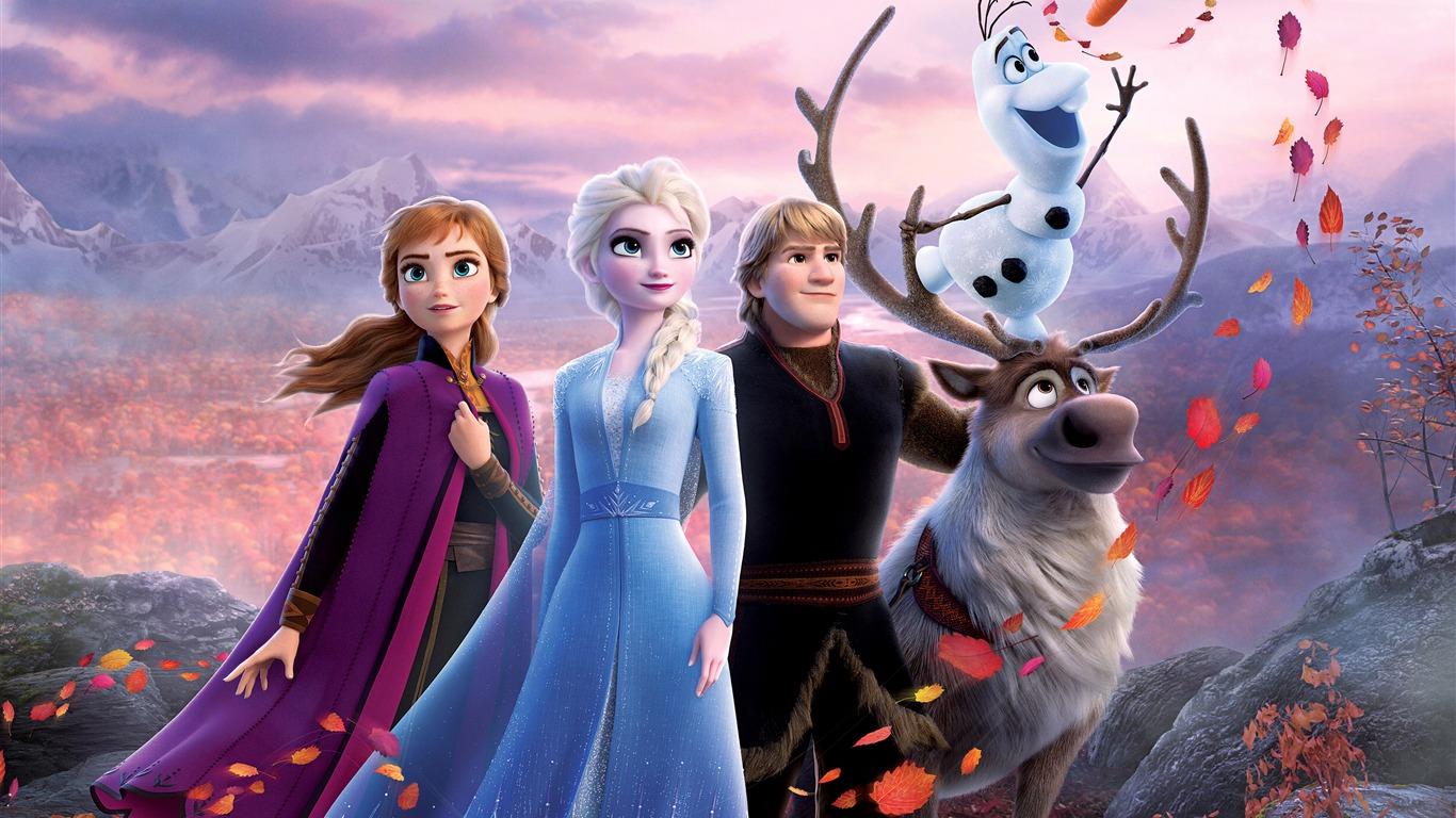 アナと雪の女王2 ディズニー 2019 映画 4k Hd ポスター