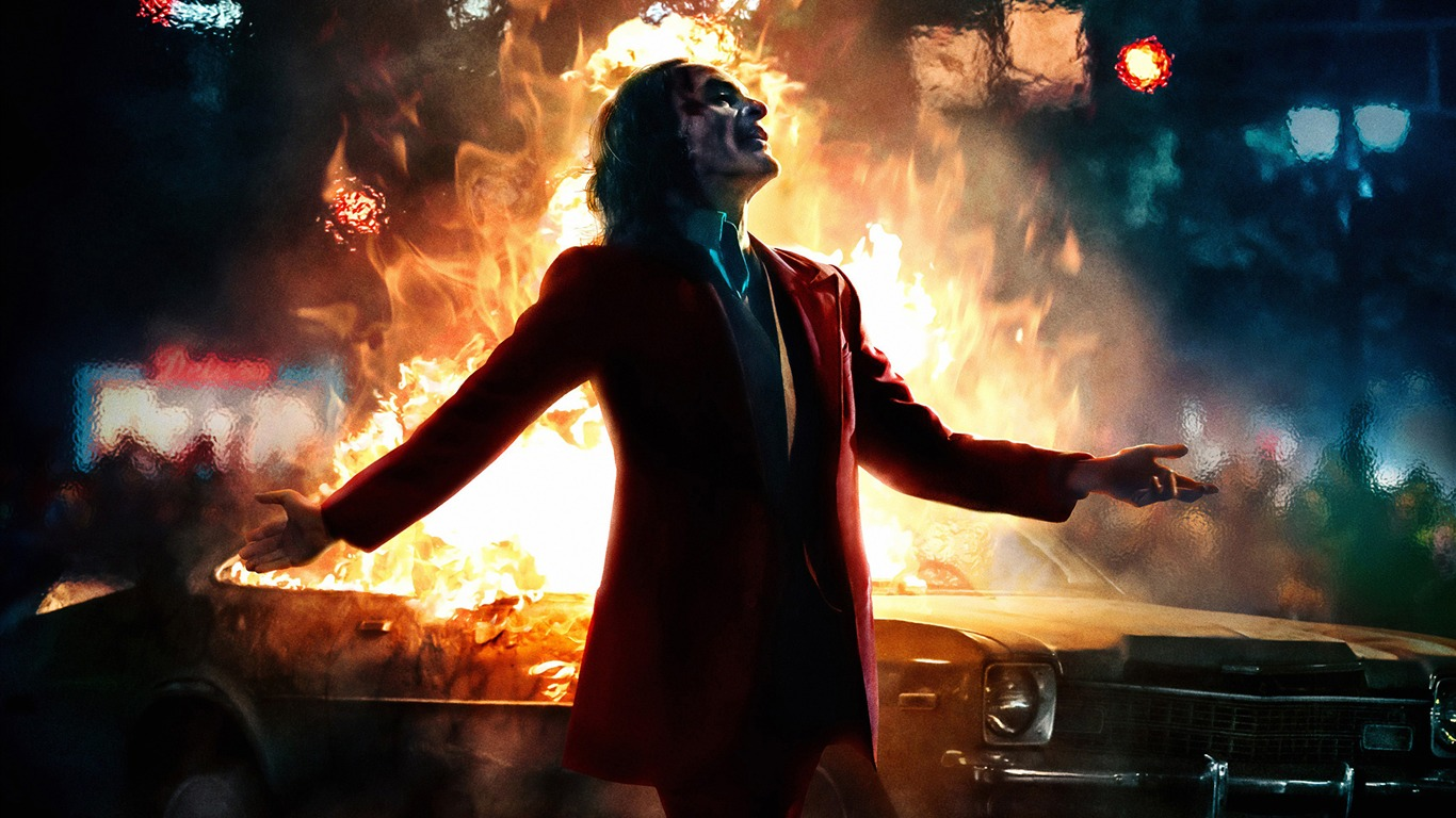 Joker Joaquin Phoenix 2019 Película Hd Cartel Avance