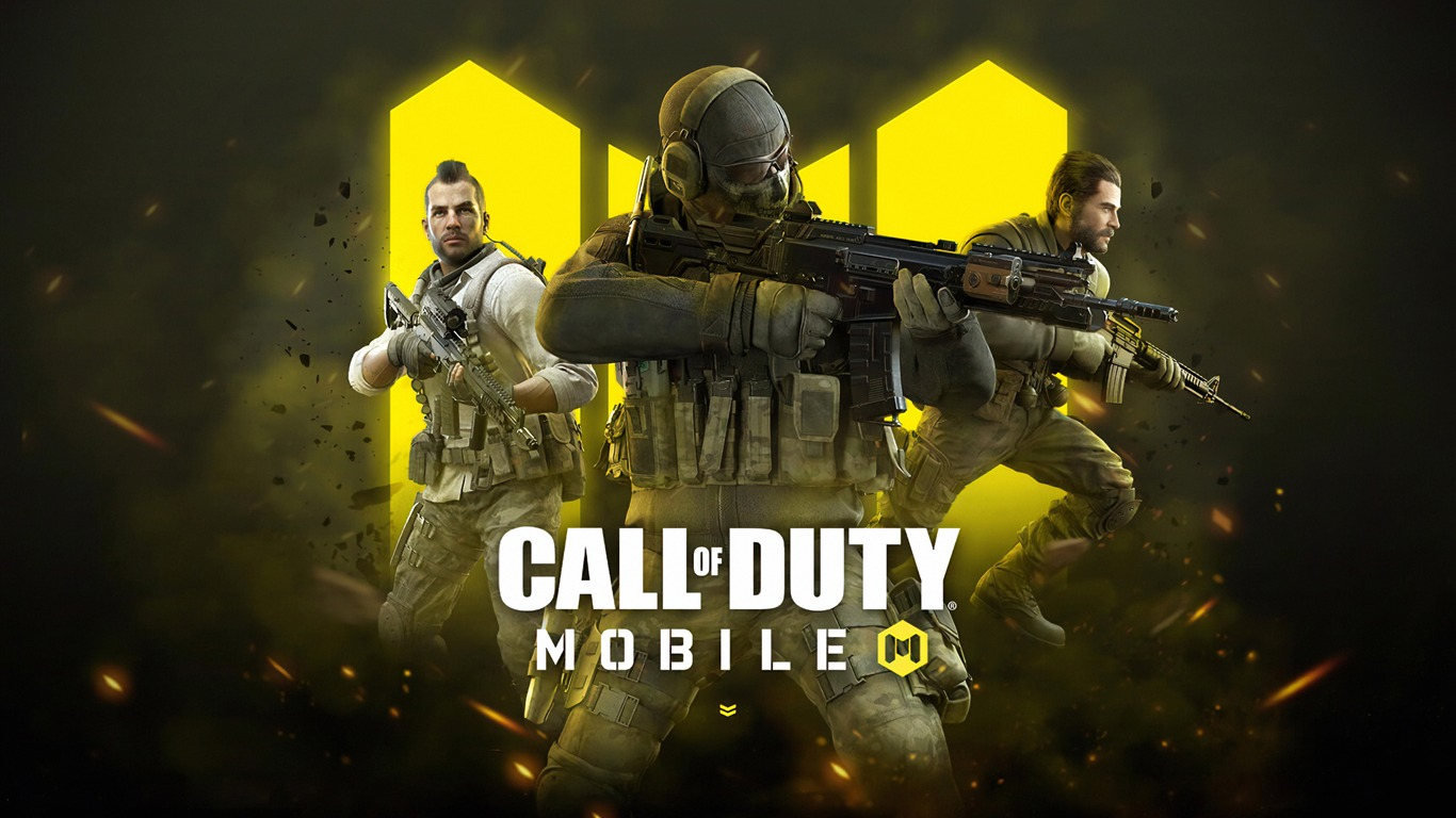 2019 Call Of Duty Juego Movil Hd Cartel Avance 10wallpaper Com