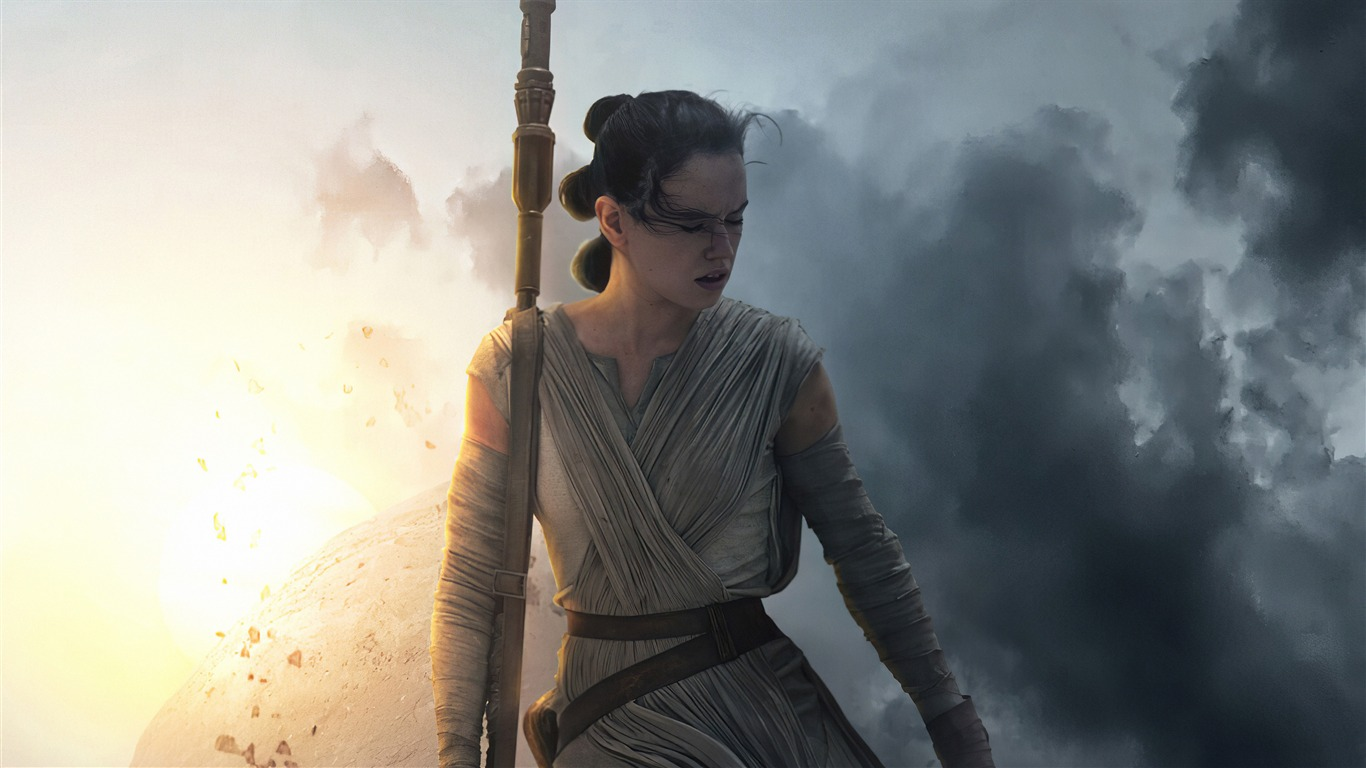 Star Wars 9 Daisy Ridley 2019 Films 4k Poster Preview