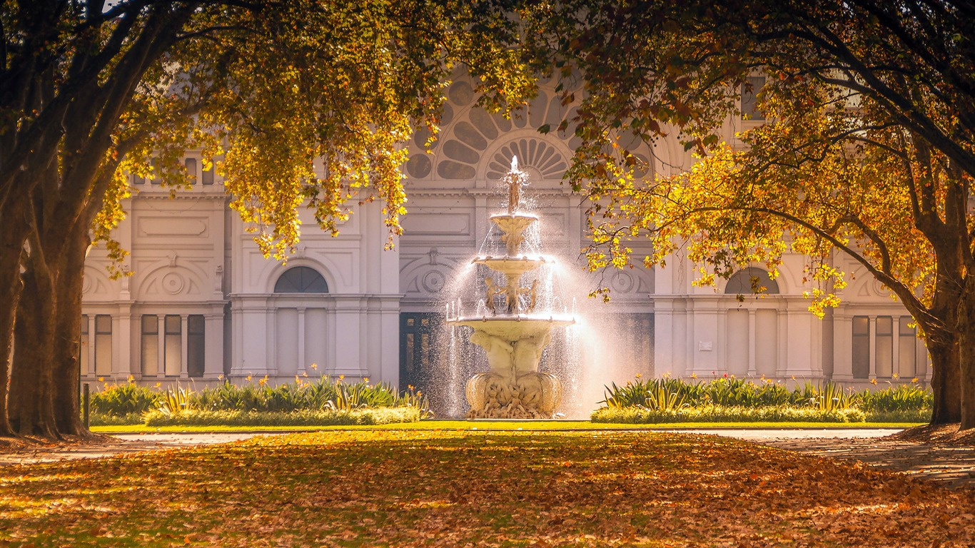Melbourne_Carlton_Garden_Fountain_2020_Bing_HD_Desktop2020.5.22