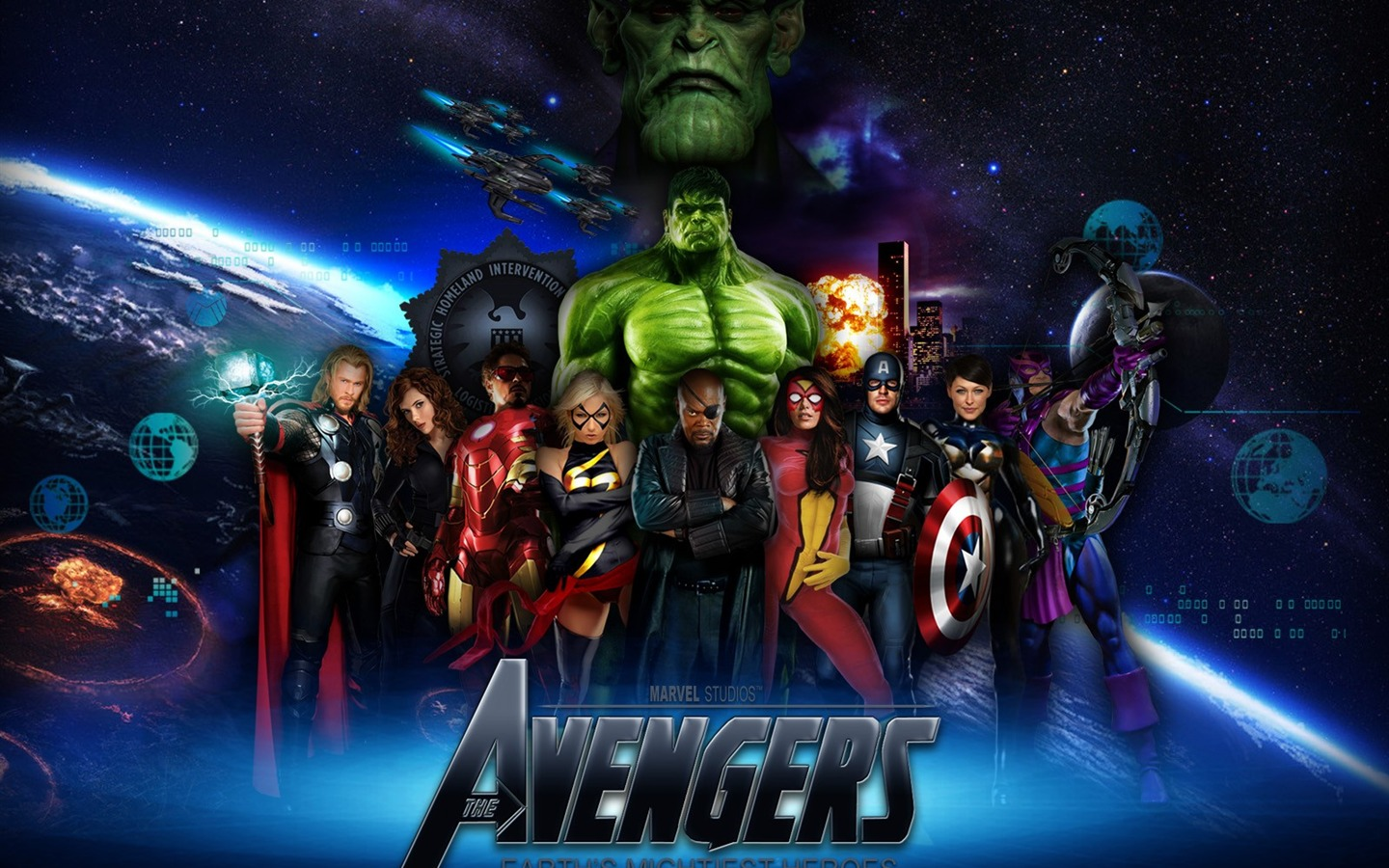 WallpapersWidecom The Avengers HD Desktop Wallpapers for