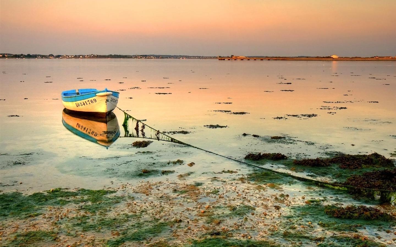 Hd bateau le monde peint plus beaux paysages 1440x900 for Les plus beau fond ecran