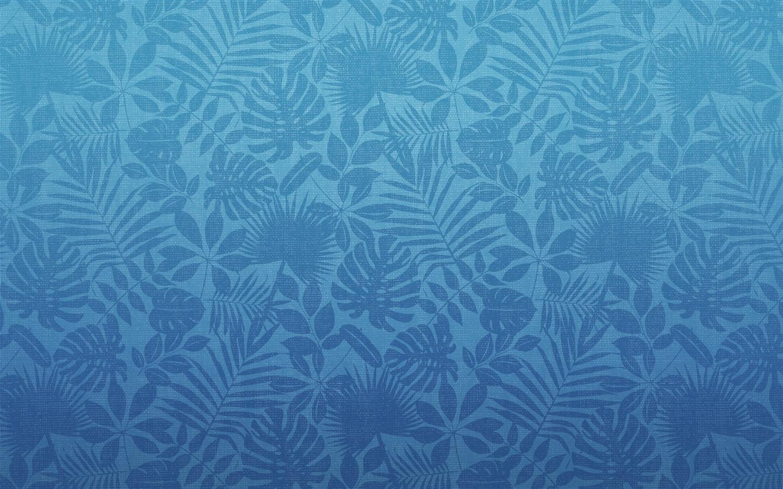 Blue Hawaiian Printing Mac OS Wallpaper  1440x900 Download