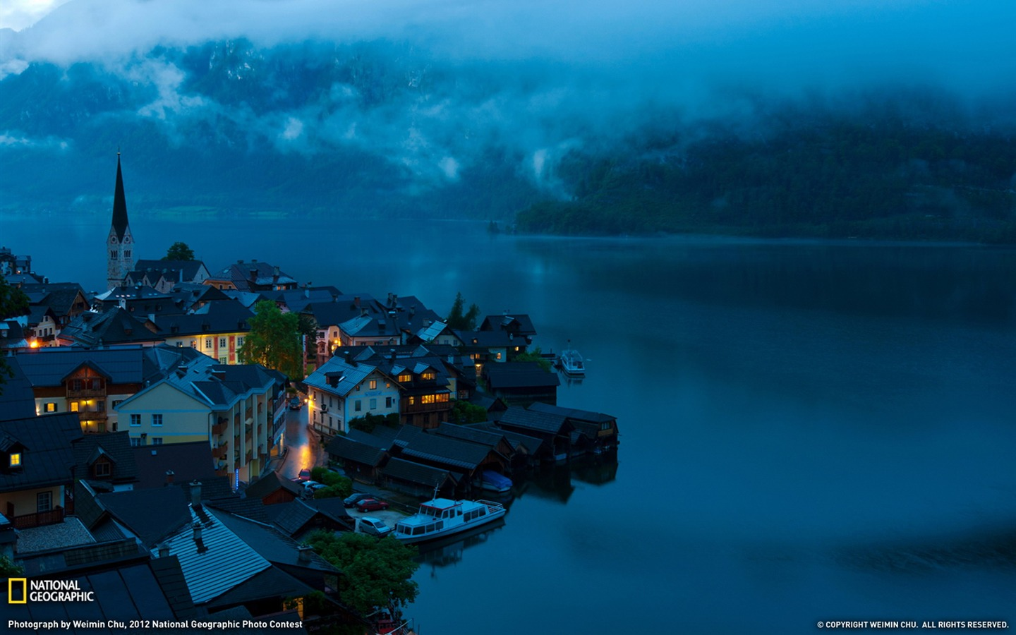 Wallpaper download national geographic - Hallstatt Austria National Geographic Photography Wallpaper 1440x900 Wallpaper Download