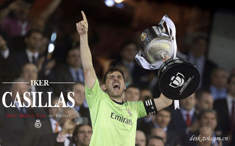 Sports Real Madrid Star Iker Casillas HD Wallpaper 06
