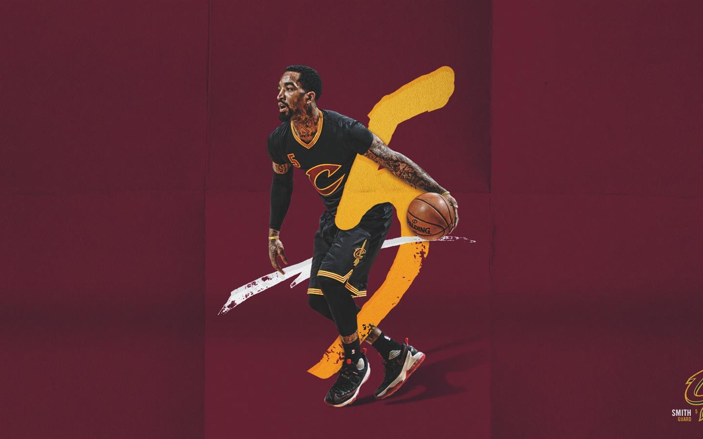 J.R.史密斯 NBA 2017年克利夫兰骑士壁纸预览 | 10wallpaper.com