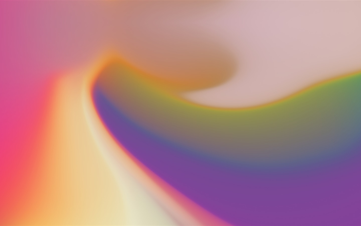 Gradients color creamy vivid abstract design - 1440x900 wallpaper download