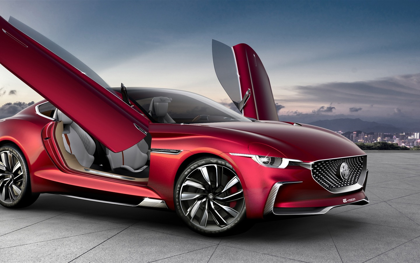 2020 MG E motion Electric Cars HD Poster Preview