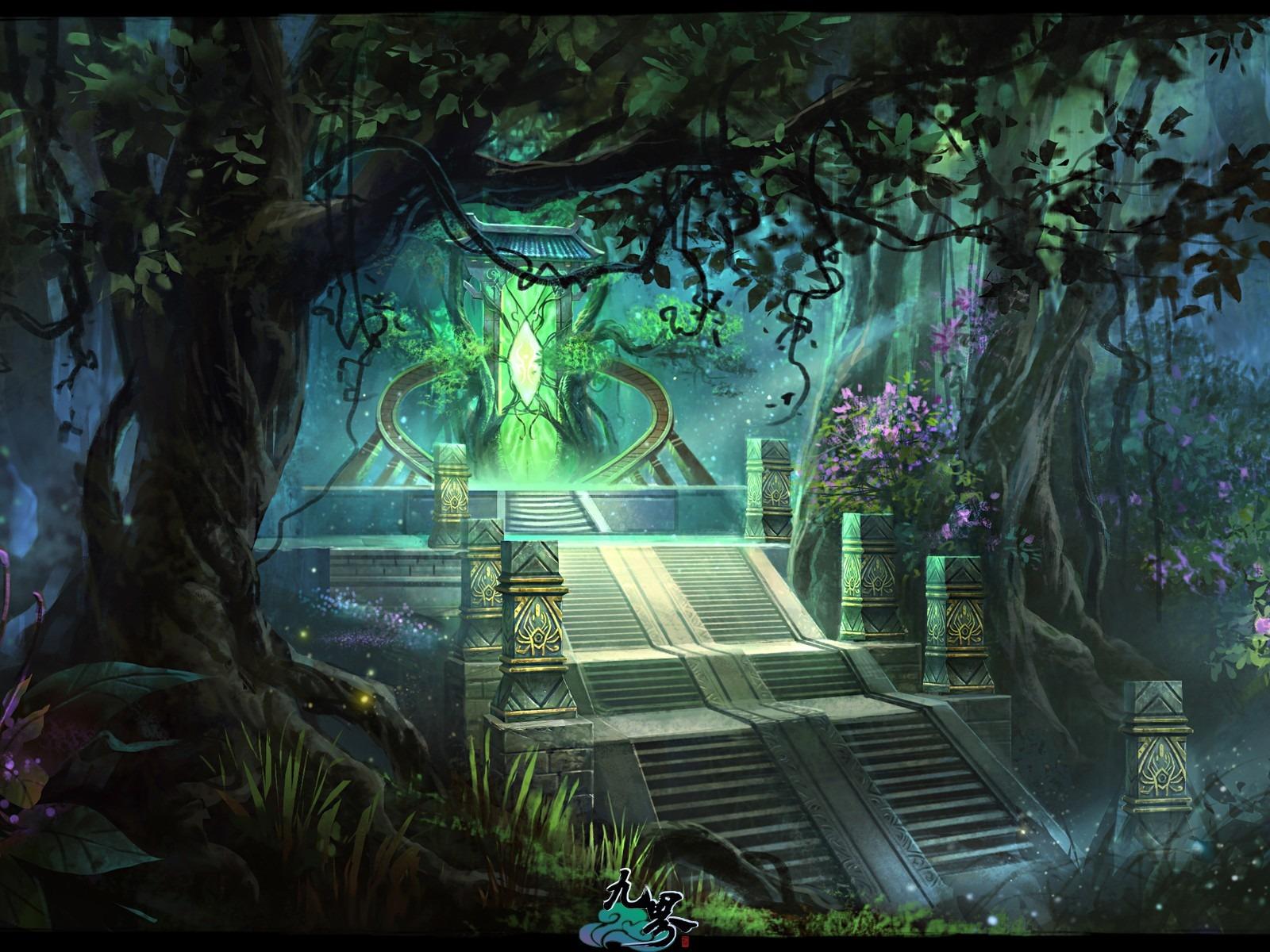 3d Fantasy World D fantasy masterpiece Nine