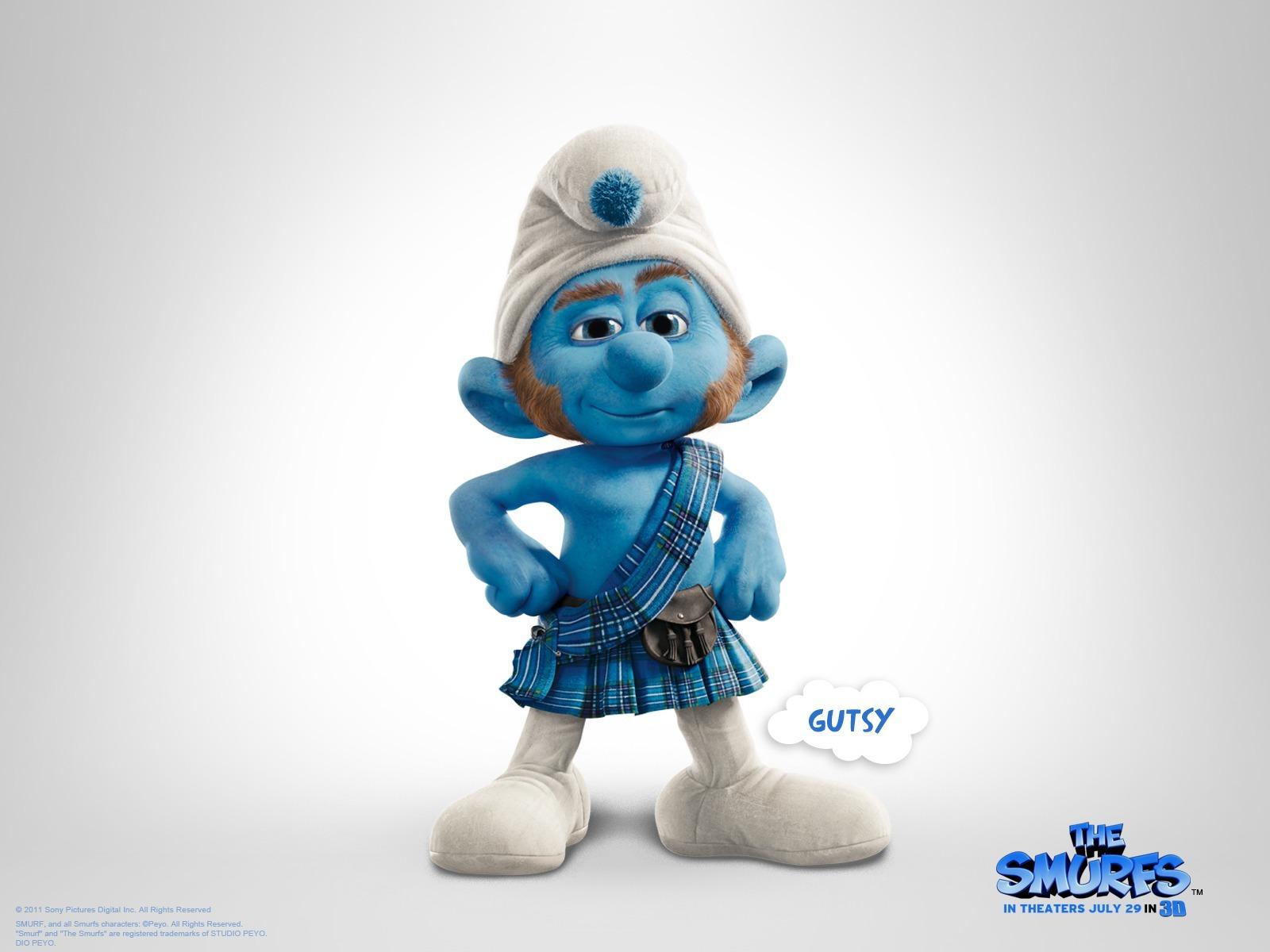 Smurf Gutsy Wallpaper