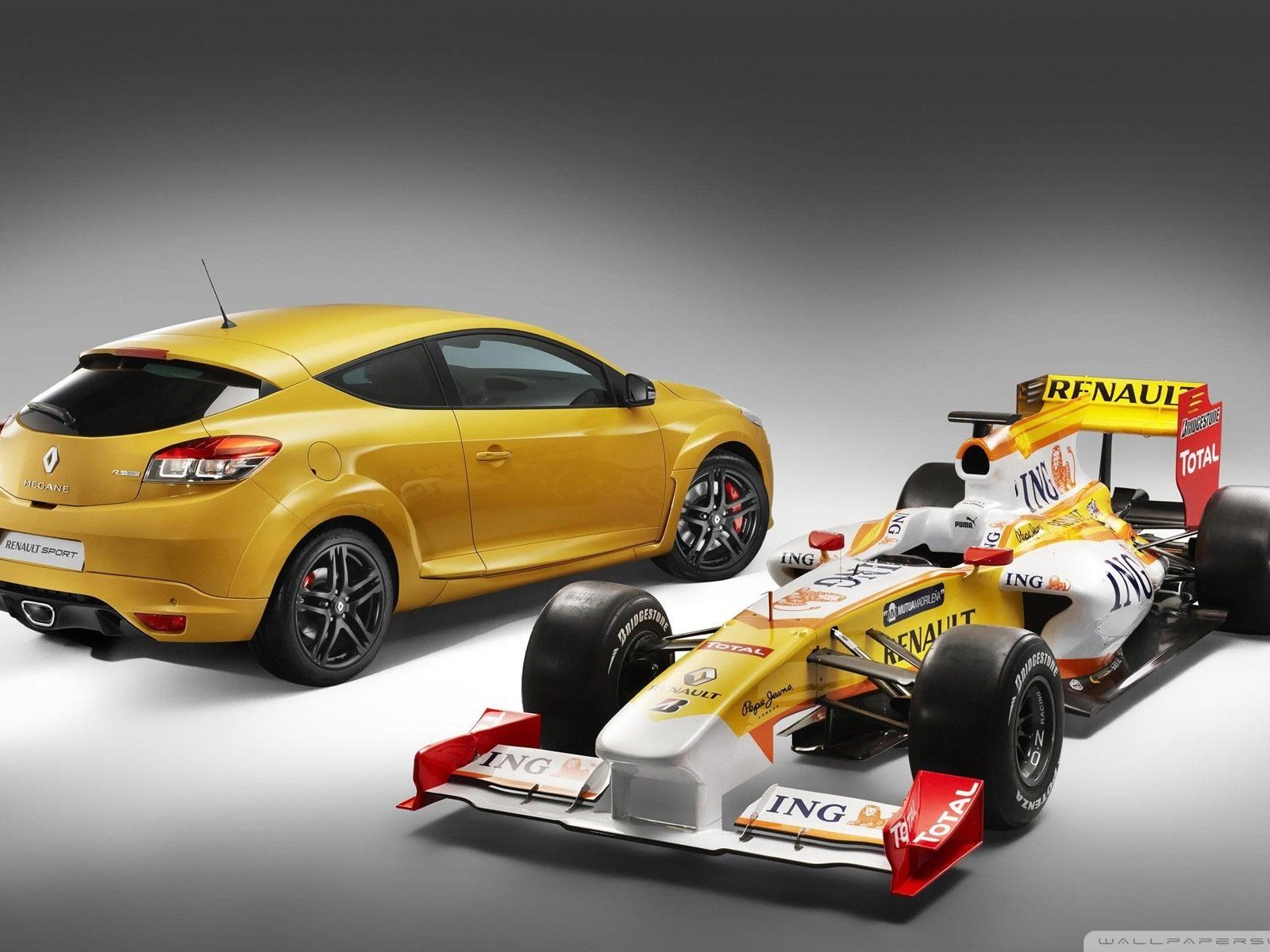 Renault Megane Rs F1 Formula Racing Wallpaper Visualizacao 10wallpaper Com