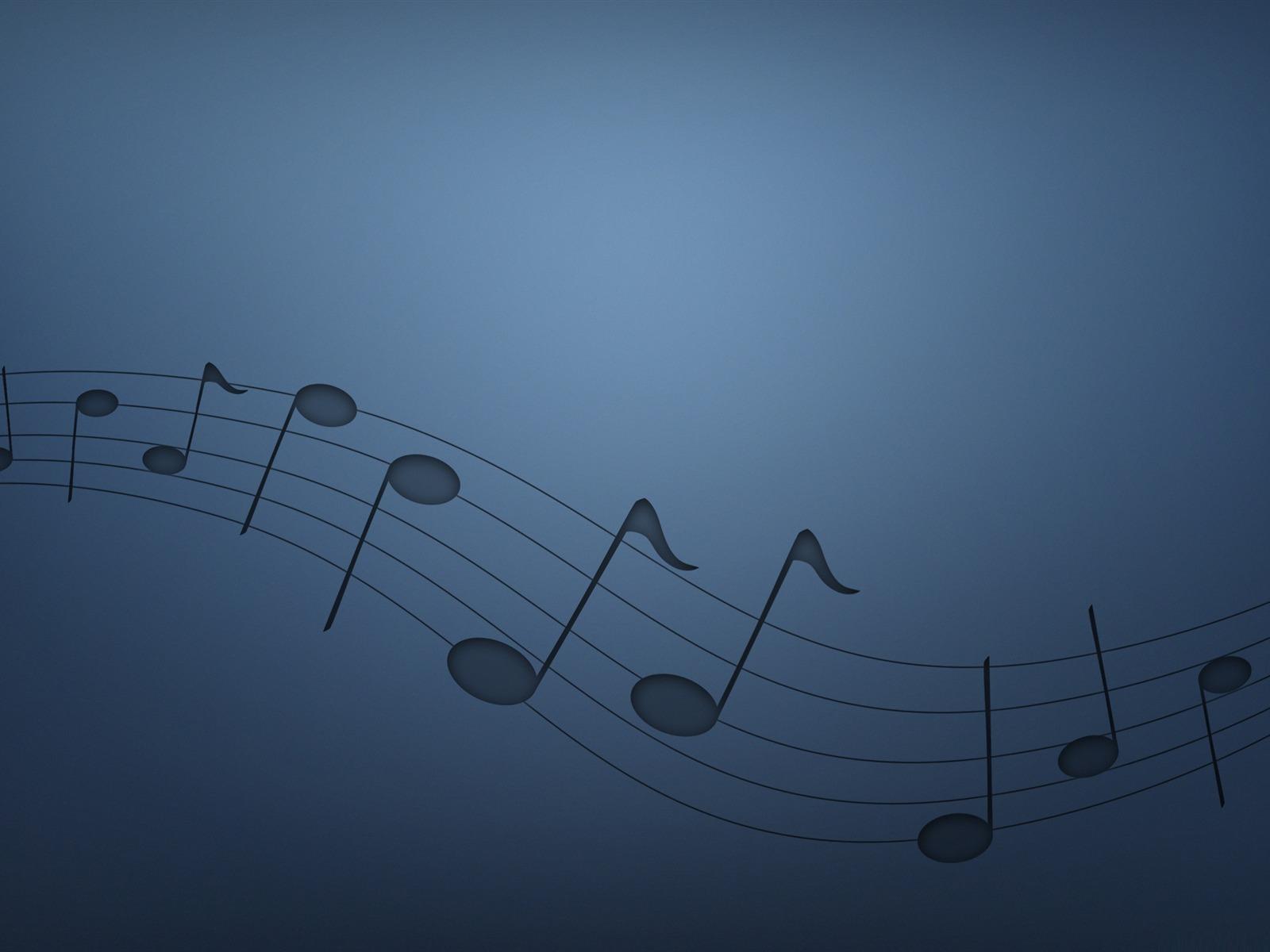 notes de musique-wallpaper thème de la musique Aperçu ... Desktop Themes
