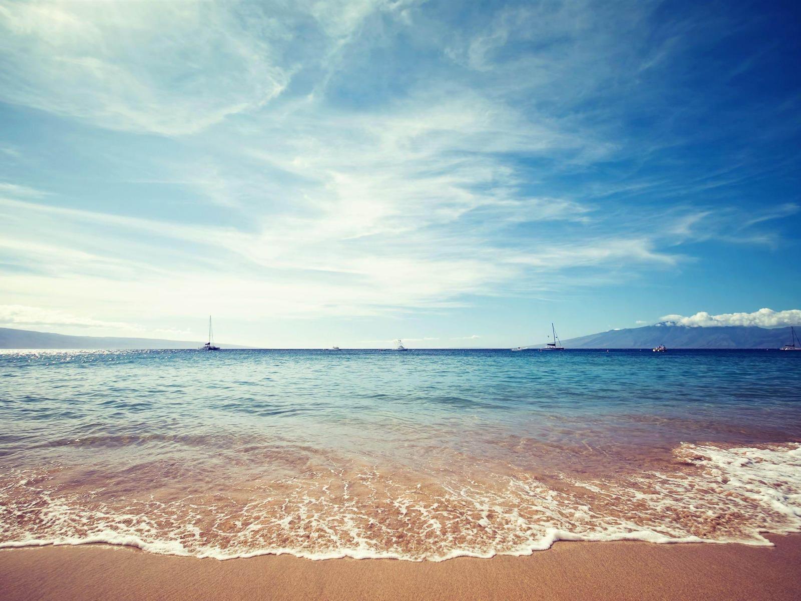 Horizon ocean fond d 39 cran paysage naturel 1600x1200 for Agence horizon paysage